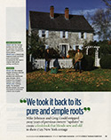 Cottage Living Magazine Page 2