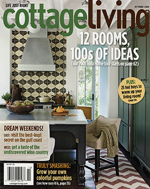 Cottage Living Magazine Cover